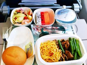 Photo: Meal onboard Korean Air to Incheon, Korea.