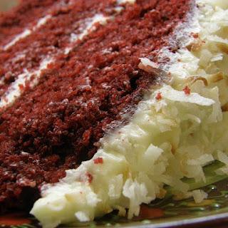 GRANDMOTHER PAUL'S RED VELVET CAKE.