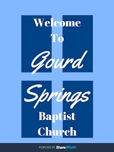 Gourd Springs Baptist Church- screenshot thumbnail
