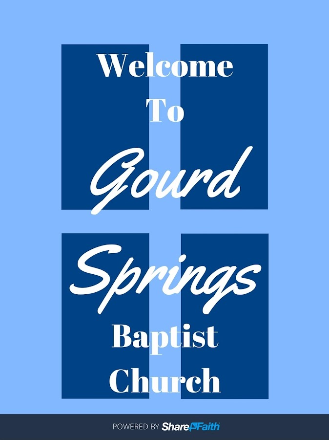 Gourd Springs Baptist Church- screenshot
