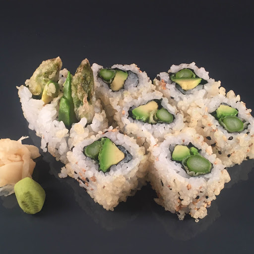 Asparagus Tempura Roll - Vegetarian