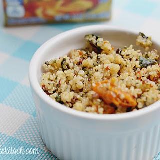 Tomato and Feta Quinoa.