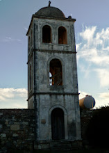 Photo: Apollonia - Monastery of St. Mary, bell tower