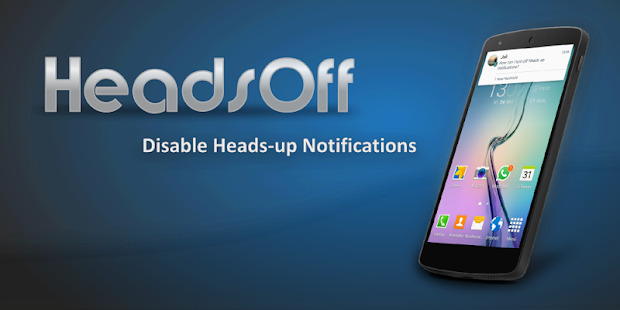 HeadsOff (Android 5.0) Screenshot