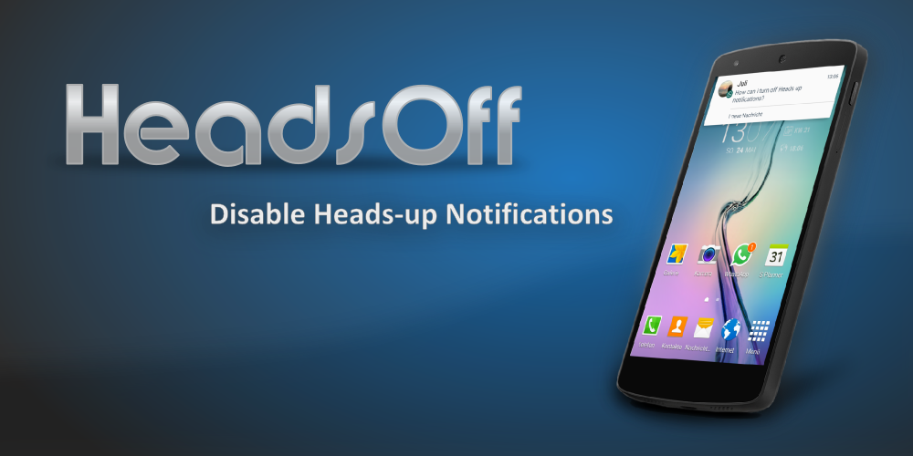 HeadsOff (Android 5.0)- screenshot