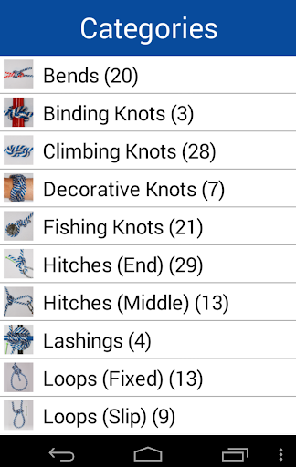 Knot Guide 100+ knots