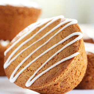 Spiced Holiday Gluten Free Gingerbread Muffins