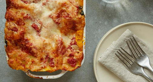 New-mom meal: Roasted butternut squash & kale lasagna