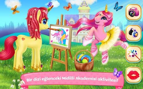 Midilli Prenses Akademisi Ekran Görüntüsü