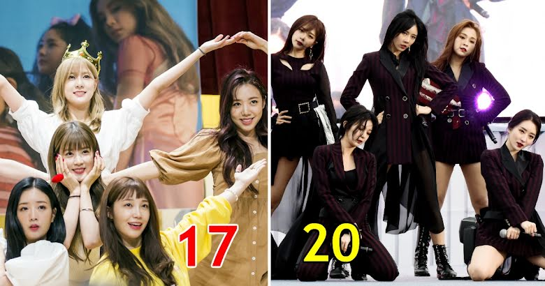 These Are The Youngest To Oldest Average Debut Ages For 21 Female K Pop Groups Koreaboo