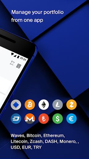 Waves u2013 Bitcoin Wallet 2.1.1 app download 2