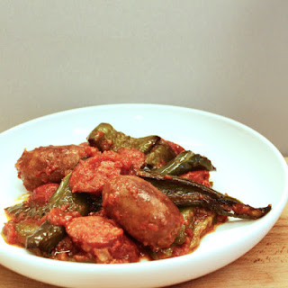 Spetzofai (greek-style Sausage And Green Peppers)