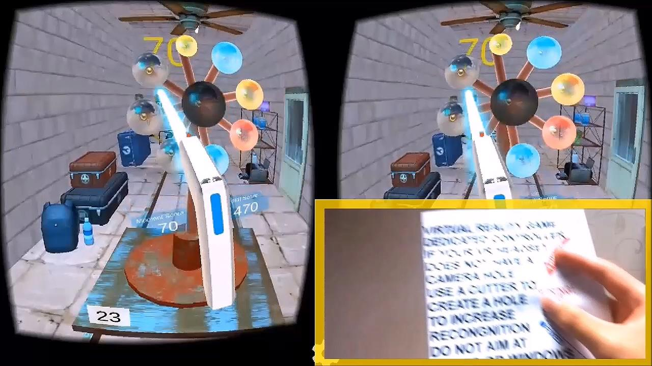 Poppist VR for Cardboard- screenshot
