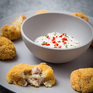 Baked Parma Ham & Parmesan Croquettes.