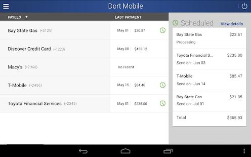 Dort Federal Mobile Banking- screenshot thumbnail