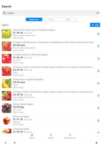 reebee: Flyers, Deals & Shopping List 4.5.8 screenshots 8