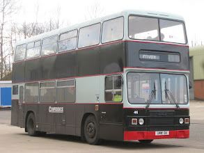 Photo: The Confidential Return - 13/03/2010 The fifth bus of the day was UWW8X, a Roe bodied Leyland Olympian which was new to West Yorkshire PTE.