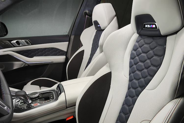 The sports seats are a functional and visual highlight. Picture: SUPPLIED