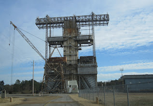 Photo: The Historic Propulsion & Structural Test Facility (Registered National Landmark) where Saturn Rockets and Space Shuttle engines were tested...