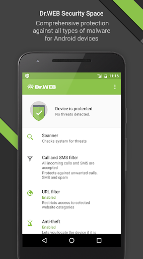 Dr.Web Security Space PRO v11.1.0 + Keys