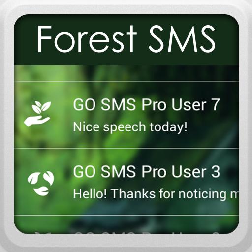 个人化のGO SMS Proの森 LOGO-記事Game