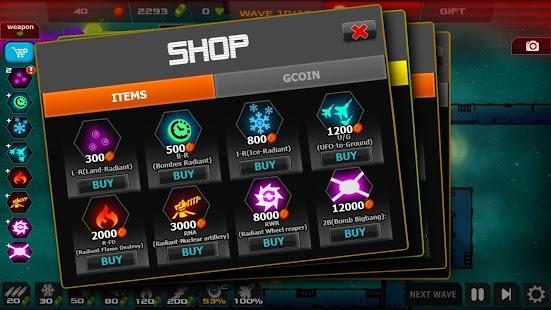 Strategy - Galaxy glow defense- screenshot thumbnail