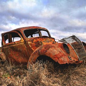 Far From Home by Gary Winterholler - Transportation Automobiles