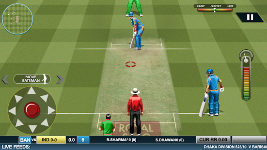 Real Cricket ™ 16- screenshot thumbnail