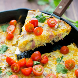 Cheesy Hash Brown and Egg Breakfast Casserole Recipe