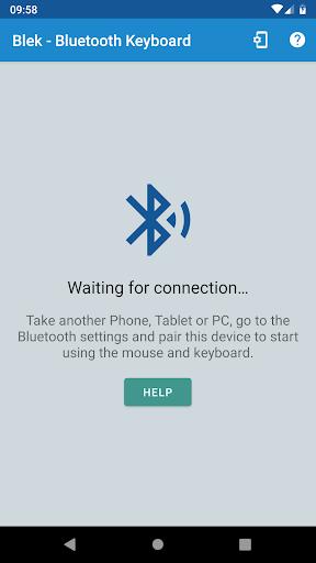Serverless Bluetooth Keyboard/Mouse for PC / Phone 0.20 screenshots 2