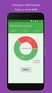 RAM & Game Booster by Augustro (67% OFF) 1