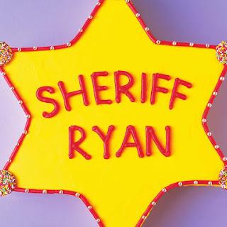 Howdy Sheriff Cake