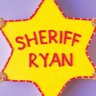 Howdy Sheriff Cake.