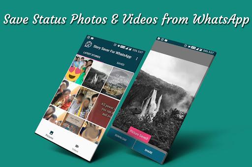 Status Saver for Whatsapp : Save Stories Images 1.12 screenshots 1