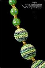 Photo: Necklaces with Crocheted Beads - Намиста з в'язаних намистин
