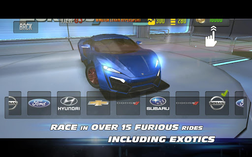 Furious Racing  screenshots 3