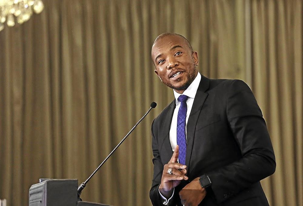 Mmusi Maimane gives the DA an ultimatum