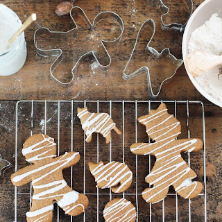 Gluten-free Iced Gingerbread Men (and Ginger Cats).
