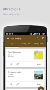 Asturias: Offline travel guide - náhled