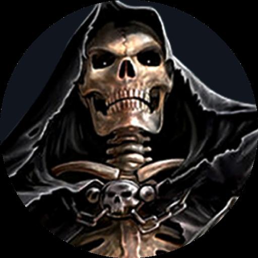 Grim Reaper-Skull Theme