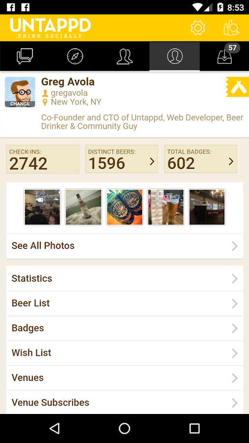 Untappd - Discover Beer- screenshot
