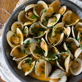 Spicy Coconut Milk Clams