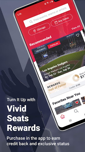 Vivid Seats | Event Tickets screenshot 1