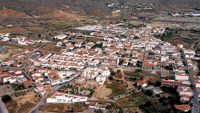 Imagen panorámica de Los Gallardos.