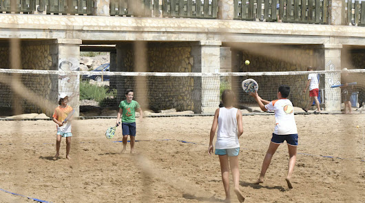 La EDM Beach Tennis Almería, al Complejo Deportivo El Toyo