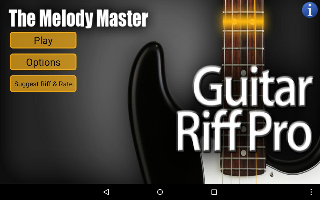 Guitar Riff Pro- screenshot