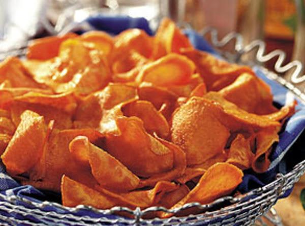 Crisp Sweet Potato Chips Recipe