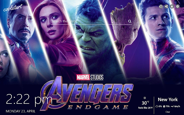 Avengers Endgame Hd Wallpapers Marvel Theme