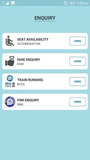 RAIL SAARTHI - INDIAN RAILWAYS OFFICIAL APP for PC