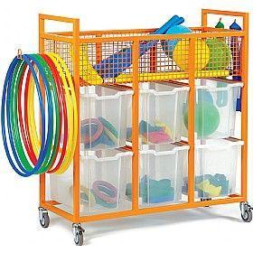 Sports Equipment Trolley £309 - Education Furniture